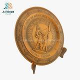 Veitnamのための最もよい販売法の供給の鋳造の青銅3Dの軍の記念品の版