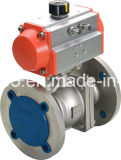 2PC BSPT Female Thread Ball Valve Ss304
