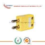 Тип разъемы k термопары миниые/стандарты с желтым цветом в штоке