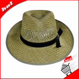 Chapéu oco do Fedora do chapéu de palha