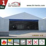 Dossel do hangar, barraca do armazém do hangar para aviões e helicóptero