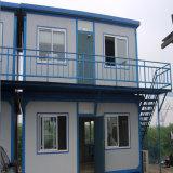 Дом стальной структуры 2 этажей светлая временно