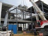 Lati diritti e magazzino prefabbricato della struttura d'acciaio del tetto rotondo (KXD-105)