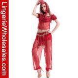 Kostuum van de Danser van het Genie van de Buik van vrouwen het Sexy Egyptische