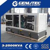 Электрический генератор молчком силы 200kw 250kVA Cummins звукоизоляционный тепловозный