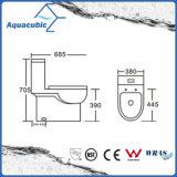Туалет Siphonic двойной полный керамический в белизне (ACT9324)