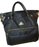 Nylon de mode et sac de main neufs d'emballage de cuir avec la qualité BS13543 de Hight