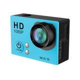 2 камера спорта DV камеры 12mega Piexls действия дюйма полная HD WiFi водоустойчивая, полное HD 1080P резвится камера