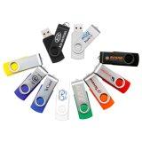 El mecanismo impulsor plástico de la pluma del mecanismo impulsor del flash del USB del eslabón giratorio, gira la memoria del USB (PZS012)