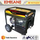 3kw Generador de gasolina de tres fases de arranque eléctrico de gasolina