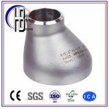 Instalación de tuberías excéntrica de acero inoxidable del reductor 304/316L Std