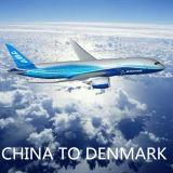 Servicio aéreo de China a Copenhague, Cph, Dinamarca