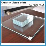 건물 유리 가구 유리를 위한 3-19mm 낮은 철 강화 유리