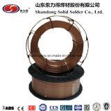 Kupferner überzogener Stahldraht CO2 Wire/MIG Schweißens-Draht Aws A5, 18 Er70s-6