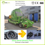 Großhandelsgut-Abfall-Plastik-und Holz-Ausschnitt und Wiederverwertungs-Maschinerie
