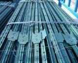미국 표준 농장 금속 T 포스트 또는 장식용 목을 박은 강철 T 포스트