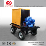 110kw 트레일러를 가진 광업 플러드 배수장치를 위한 디젤 엔진 수도 펌프