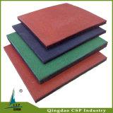 Fußboden-Gummimatte für die Gymnastik hergestellt in China