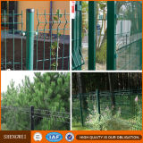 Cerca residencial rectangular del acoplamiento de alambre del jardín