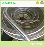 Шланг отводного штуцера полива воды стального провода PVC усиленный промышленный