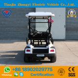 Vehículo de visita turístico de excursión de la venta 4 de Seater de la lanzadera eléctrica clásica con pilas caliente del golf con Ce y el SGS