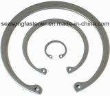 Anel de retenção do aço inoxidável/grampo de retenção (DIN471/DIN472/DIN6799)