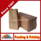 Impresas bolsas de papel Kraft para la Alimentación (220005)