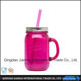 음료를 위한 다채로운 투명한 유리제 단지 식품 보존병