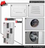 更衣室の収納キャビネットの鋼鉄ロッカー