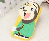 Hete Cute 3D Design Animal Mobile Phone Silicone Case voor iPhone en Samsung