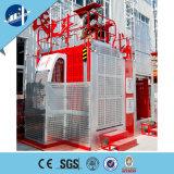 Alzamiento barato eléctrico de la cuerda de alambre del edificio del gusano
