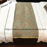 Linho de cama barato por atacado do corredor da cama do hotel da fábrica