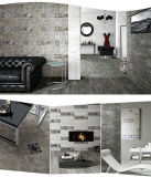 セメントカラー陶磁器の磁器の床タイルの無作法なタイル600*600mm