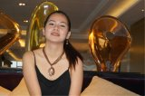 Цветастая полива с Oval-Shaped шкентелем и ожерельем шариков цепным с комплектами Jewellry серег