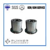 높은 정밀도 스테인리스 알루미늄 주문 선반 CNC 기계로 가공 부속