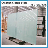 """vetro """"float"""" bianco eccellente di 8mm con il certificato del Ce"""