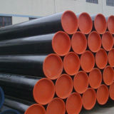 Tubulação de aço sem emenda do carbono preto do tratamento de superfície 20mog da pintura