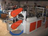 Roulis pour rouler le sac d'ordures perforé faisant la machine avec le système entraîné par un moteur électrique servo