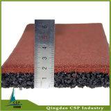 500X500X25 mmの伸縮性があるリサイクルされたゴム製床タイル
