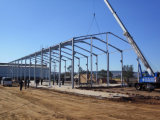 Almacén prefabricado modificado para requisitos particulares y taller del marco de acero
