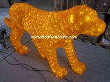 정원과 Entertainment Park를 위한 3D Christmas Leopard Shape LED Acrylic Lights (BW-SC085)