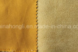 Faux Suede Weft Woven Fabric, 140GSM, 100%Polyester