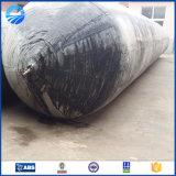 Sac à air marin gonflable en caoutchouc normal de certificat de CCS/BV pour le lancement de bateau