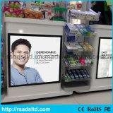 도매 광고 전시 호리호리한 LED 자석 Lightbox