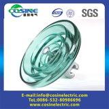 Aisladores de cristal endurecidos anticontaminación con el estándar IEC60383