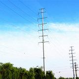 110 KV-Stahlrohr-Kraftübertragung linearer Pole