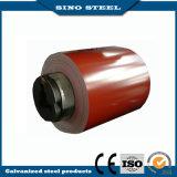 катушка покрытия цинка горячего DIP красного цвета 0.45mm гальванизированная стальная