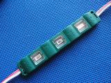 La inyección 3LED del módulo de SMD 5730 impermeabiliza la luz azul roja