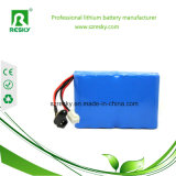 Baterías de ion de litio 6600mAh 14.8V 18650 para las bombillas de la salida