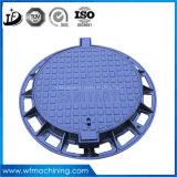 Accesso duttile della botola di En124 D400/botola standard/Manholr con il pezzo fuso di sabbia